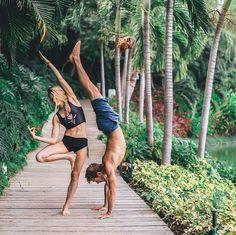 #Teeki Buffalo Princess Black Mermaid Yoga Crop Top | Available at YogaOutlet.com Photo via @acrosprout feat. @moderntarzan