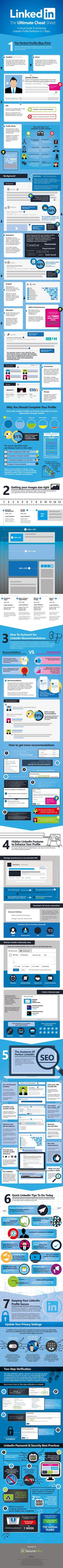 Build Your LinkedIn Profile From Start to FinishWith This Massive VisualGuide
