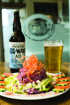 Hefeweizen- and Pumpkin-Infused Seafood Salad recipe