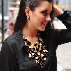 Amrita Singh   Color Block Bib Necklace - Fashion Jewelry Necklaces - Necklaces