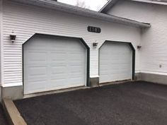1 used Garaga garage doors and hardware for sale