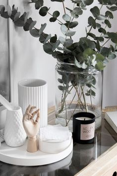"""The vase with vertical pleats is called a """" LYNGBY"""" vase Danish design"""