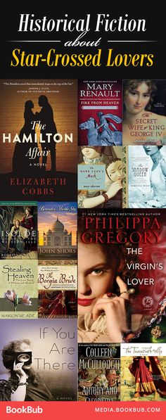 16 historical fiction novels about star-crossed lover. If you love some romance in your history books, these reads are for you!