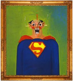 George Condo - Superman