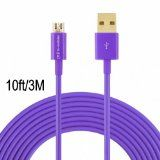 Hi-mobiler High Speed 10ft USB 2.0 a Male to Micro B Cable with Gold-plated Connectors for Samsung Lg HTC and Other Tablet Smartphone (Purple) Reviews - http://www.knockoffrate.com/cell-phones-accessories/hi-mobiler-high-speed-10ft-usb-2-0-a-male-to-micro-b-cable-with-gold-plated-connectors-for-samsung-lg-htc-and-other-tablet-smartphone-purple-reviews/