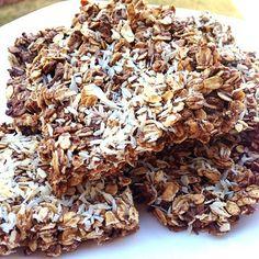 Coconut Protein Bars