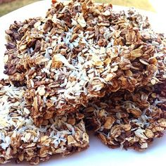 Ripped Recipes - Coconut Protein Bars - Tried a new method for protein bars and love it!! It's crack for any fitness enthusiast! Never buy another 'healthy protein bar' again. They are loaded with crap!