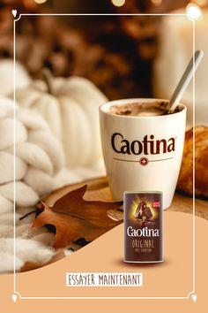 Savais-tu que plus de 92% des Suisses connaissent Caotina, la boisson cacaotée suisse par excellence? Délice à savourer en toutes saisons, Caotina adoucit le froid hivernal dans les stations de ski et étanche les soifs de fraîcheur dans la chaleur estivale. Et ça, ça se fête... avec une bonne tasse de Caotina, bien sûr! Stations De Ski, Le Cacao, C'est Bon, Tea, Mugs, Tableware, Desserts, Swiss Chocolate, Fabric Softener