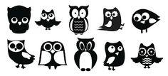 KLDezign SVG: Owls ... free