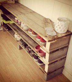 Photo extraite de Les 15 meilleures idées pour transformer des palettes en bois en super déco ! (15 photos)