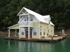 20 x 33 Floating Cottage Approx 660 sqft For Sale on Norris Lake