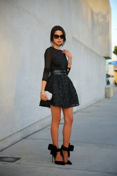 Holiday Luxe - Little Black Lace