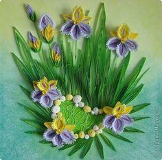 Quilled Flower arrangement