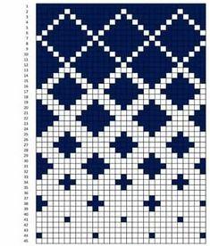 Knitting Charts, Knitting Stitches, Knitting Patterns, Knitting Machine, Free Knitting, Beginner Knitting, Sock Knitting, Vintage Knitting, Tapestry Crochet Patterns