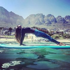 Oh yeah.... this Spirit Sister @biancajadeyoga looking simply Mermaizing in our I Am Water leggings. ♻️ We named these mermaid inspired pants I Am Water as 10% proceeds go towards the @iamwater_foundation Ocean Conservation.