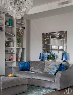 Московская квартира 94 м2 от Надежды Каппер с шикарным видом - Дизайн интерьеров   Идеи вашего дома   Lodgers