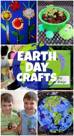 Fun Earth Day Crafts and Activities for Kids