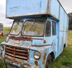 AUSTIN LD Classic Trucks, Classic Cars, Abandoned Cars, Abandoned Vehicles, Rust In Peace, Van Car, Commercial Vehicle, Barn Finds, Retro Cars