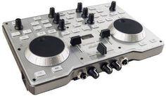Hercules DJ console mk4 - Contrôleur DJ USB ultra nomade pour PC et Mac. Table de mixage 2 platines avec audio intégré. Hercules http://www.amazon.fr/dp/B00371R8PO/ref=cm_sw_r_pi_dp_f3vLwb16PQGSQ