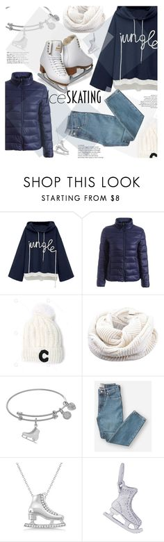 """""""Ice skating"""" by puljarevic ❤ liked on Polyvore featuring Tiffany & Co., Everlane, Allurez, Rembrandt Charms and iceskatingoutfit"""