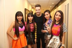"""""""It was a pleasure meeting you  @fakeliampayne  Thanks for appreciating our performance tonight  @thexfactor"""""""
