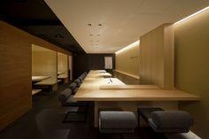 Sushi Azuma restaurant by Stile, Osaka Japan restaurant