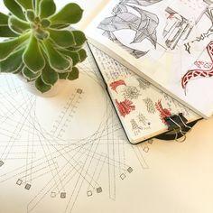 Sketchbooks + Plant