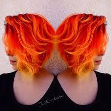 Resultado de imagem para short fire ombré hair