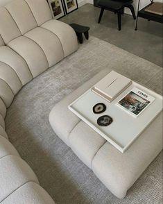 Korean Bedroom, Beige Couch, Appartement Design, New Room, Home Decor Inspiration, Design Inspiration, Decor Ideas, Home Interior Design, Home And Living