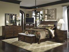 Portolone Monteri Panel Bedroom Set   Kincaid Furniture   Home ...