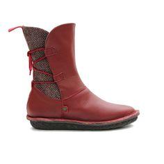 piper l red tweed from Po-Zu Online Ltd