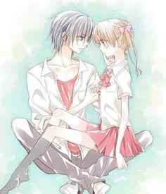 Mikan and Natsume - Gakuen Alice