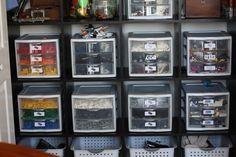 LEGO storage that fits into cubbies
