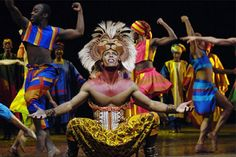 Lion King walt disney world show