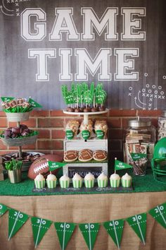Pin for Later: You're Sure to Score Major Points With Your Kids Thanks to This Tailgate Football Party