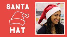 Easiest Santa Hat Ever!