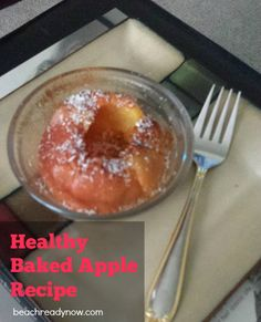 HEALTHY baked apple recipe