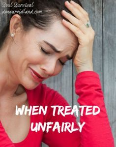 """""""When Treated Unfairly"""" (12/14) Have you ever been misjudged, falsely accused, or passed over by someone in leadership? Have you ever been hurt or mistreated? What do you think about at those times? How can you learn to  trust God in a greater way?  Also, find out why God would call a group of women """"cows of Bashan"""" and how we can be sure we don't act like them."""
