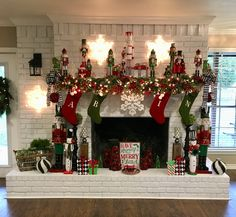 It's Beginning To Look A Lot Like Christmas.....Christmas Fireplace
