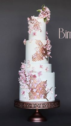 Indescribable Your Wedding Cakes Ideas. Exhilarating Your Wedding Cakes Ideas. Unique Wedding Cakes, Beautiful Wedding Cakes, Gorgeous Cakes, Wedding Cake Designs, Pretty Cakes, Amazing Cakes, Wedding Simple, Trendy Wedding, Divorce Cake