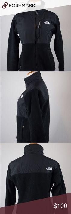 Women's North Face Black Zip Jacket This medium jacket is warm and comfortable. It is in great condition and has been professionally cleaned before listed. SKU in warehouse is #878. North Face Jackets & Coats