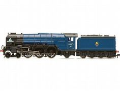 The Hornby   BR 'Tornado' Peppercorn Class - BR Mainline Blue, in the range of Steam Locomotives accurately recreates the real life locomotive. This model train features extensive detailing.