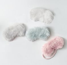 RH TEEN's Kashmir Faux Fur Eye Mask:Glamour on the go. Sewn from lush faux fur that recreates the indulgent feel of the real thing, our sleep mask delivers chic comfort whether you're lounging at home or resting on the road. Cute Sleep Mask, Baby Doll Nursery, Cute Lazy Outfits, Newborn Baby Dolls, Plaid Pajamas, Cute Notebooks, Princess Aesthetic, Dress Indian Style, Room Accessories
