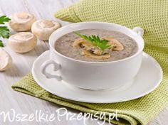 Zupa pieczarkowa mojej babci