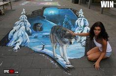 Amazing 3D Street Art : Fresh til Death TV