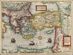 Armenia on antique maps