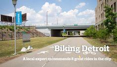 bike rides in Detroit