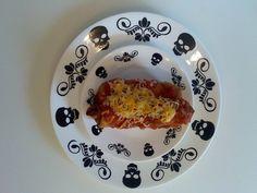 4:20 Black Bean, Chicken, Cheese Chimichanga