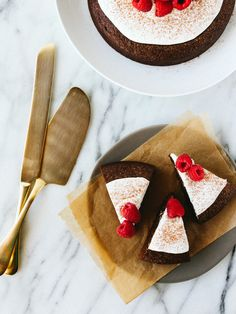 Gingerbread Cake w/ Whipped Coconut Topping by Oh, Ladycakes