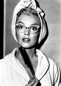 Marilyn In Bathrobe
